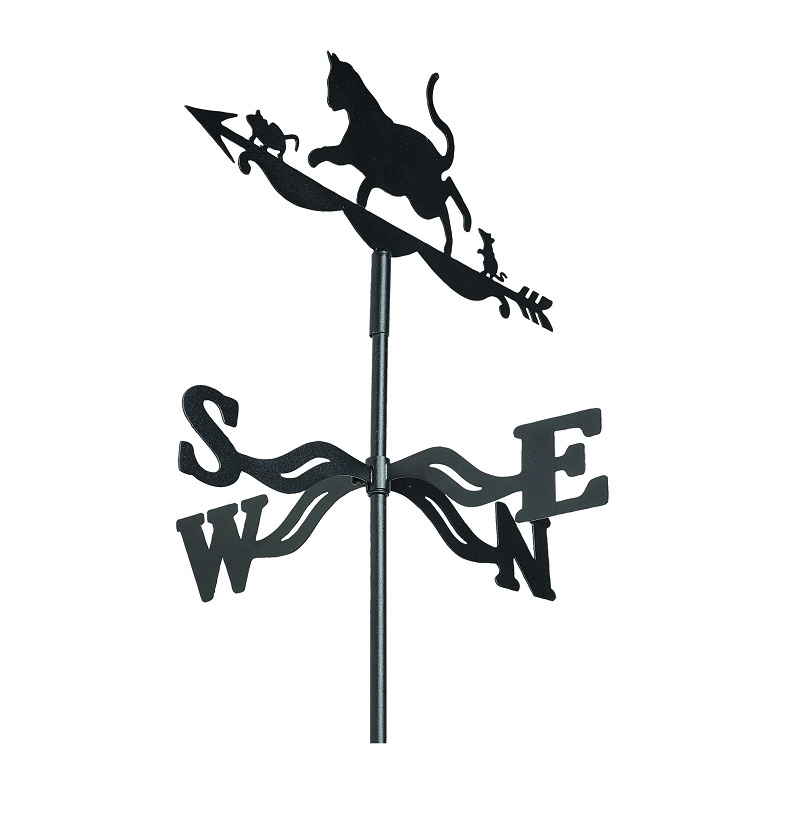 Cat & Mouse Weather Vane